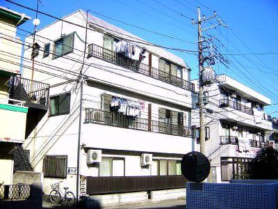 南武線 武蔵中原駅 1DK 外観写真